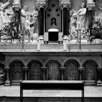 David Farrell, Church, Dublin, sometime in the early Nineties.