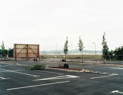 John Duncan, Harbour Exchange, Airport Road West, from the series Trees from Germany, 2003