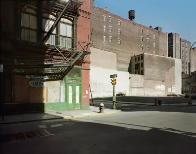 Stephen Shore, Grand Street at Mercer Street, New York, New York, February 24, 1974