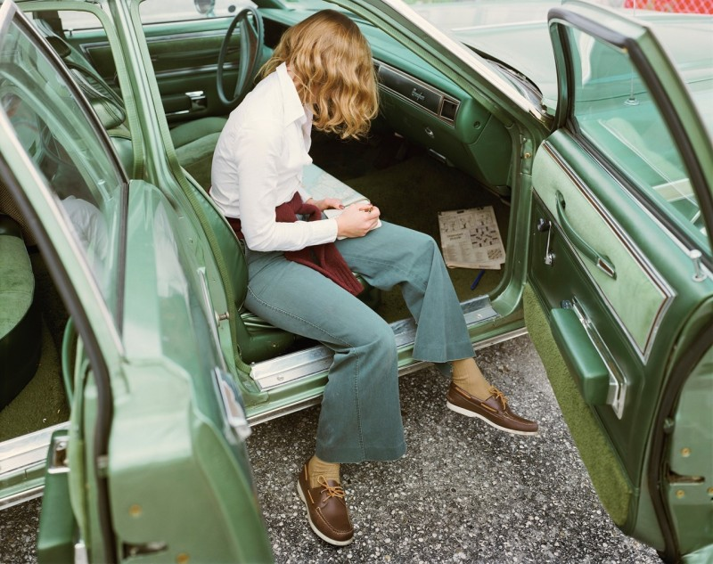 Stephen Shore, Ginger Shore, West Palm Beach, Florida, November 14, 1977
