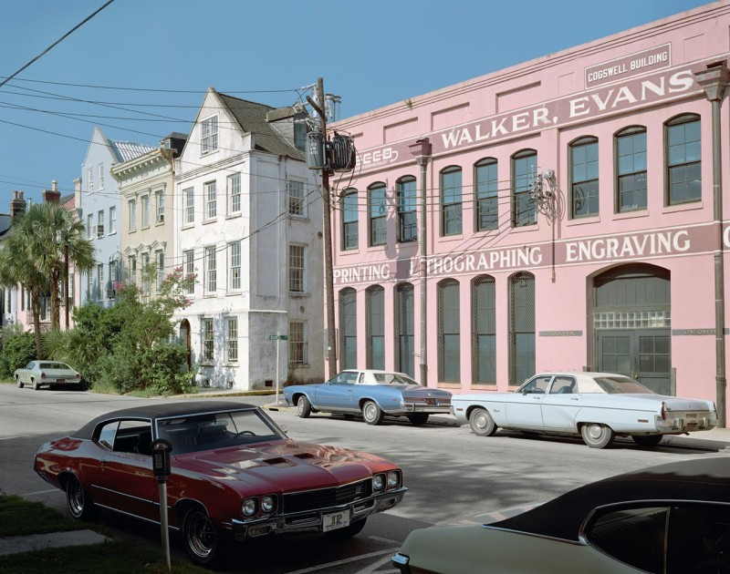 Stephen Shore, East Bay Street, Charleston, South Carolina, August 4, 1975