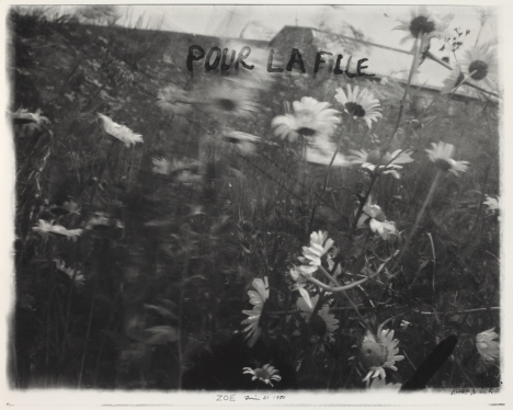 Zoe, June 21, 1980. From the Robert Frank Collection, National Gallery of Art, Washington D.C.